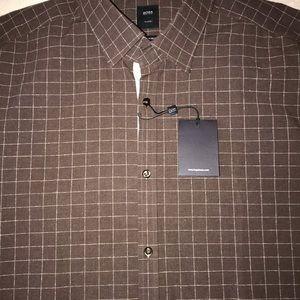 BOSS HUGO BOSS Shirts - BOSS HUGO BOSS men's shirt XL dress shirt NEW $275